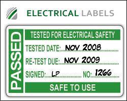 eticheta test pat