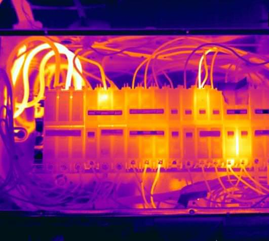 termoviziune contactoare